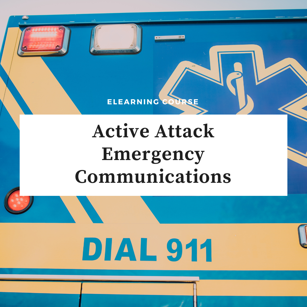 Active Attack Emergency Communications